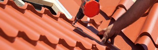 save on Dishes roof installation costs